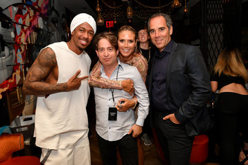 Heidi Klum Nick Cannon Republic Records & Guess Celebrate the 2016 MTV Video Music Awards at Vandal With Cocktails by Ciroc - Inside