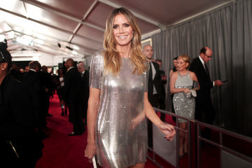 Heidi Klum The 59th GRAMMY Awards -  Red Carpet