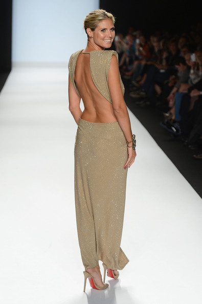 Heidi Klum - Project Runway - Runway - Spring 2013 Mercedes-Benz Fashion Week