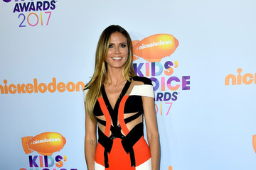 Heidi Klum Nickelodeon's 2017 Kids' Choice Awards - Arrivals