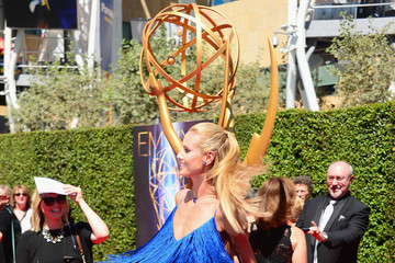 Heidi Klum Arrivals at the Creative Arts Emmy Awards