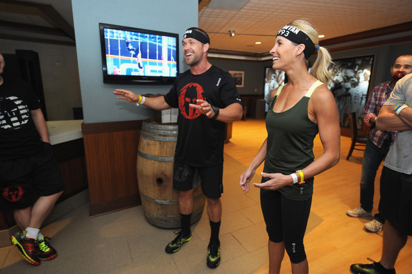 Chris And Heidi Powell Take On Reebok Spartan Race In New York City With  New Reebok dd638ded2