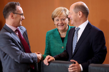 Heiko Maas Weekly Government Cabinet Meeting