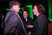 Sean Nelson, and actors Rob Brydon and Steve Coogan attend the Tribeca Film Festival after-party for The Trip hosted by Heineken at The Chelsea Room on April 21, 2011 in New York City.