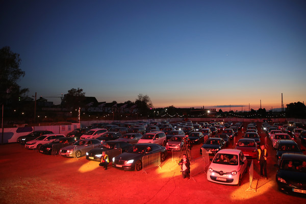 Heino Performs At BonnLive Drive-In Concert