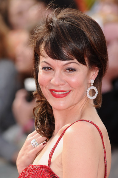 Helen McCrory Actress Helen McCrory attends the World Premiere of Harry Potter and The Deathly Hallows - Part 2 at Trafalgar Square on July 7, 2011 in London, England.