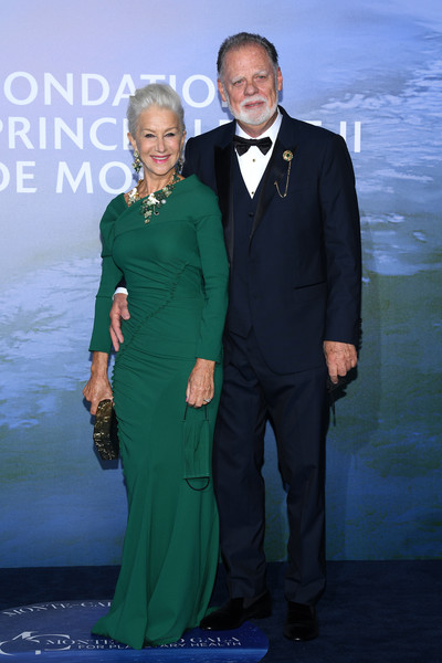 Entertainment  Pictures of the Month - September 2020 [entertainment pictures of the month,green,formal wear,suit,tuxedo,premiere,dress,event,fashion,carpet,fashion design,dress,carpet,green,helen mirren,taylor hackford,clothing,wear,suit,monte-carlo gala for planetary health,dress,clothing,skirt,little black dress,form-fitting garment,red carpet,green,blue,carpet]