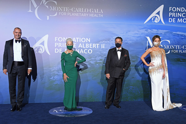 Monte-Carlo Gala For Planetary Health : Photocall [monte-carlo gala for planetary health : photocall,formal wear,suit,event,award ceremony,world,tourism,albert ii,milutin gatsby,r,prince,kate beckinsale,health,celebrity,monte-carlo,monaco,albert ii prince of monaco,monte carlo,2020,health,celebrity,prince,getty images]