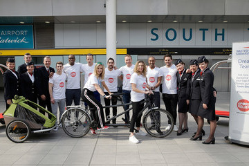 Helen Skelton The British Airways Dream Team At London Gatwick