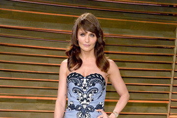 Helena Christensen Stars at the Vanity Fair Oscar Party
