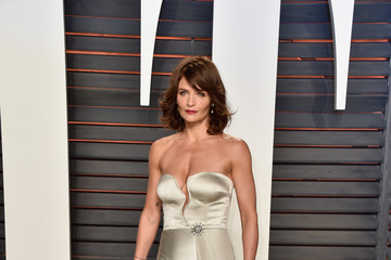 Helena Christensen 2016 Vanity Fair Oscar Party Hosted By Graydon Carter - Arrivals