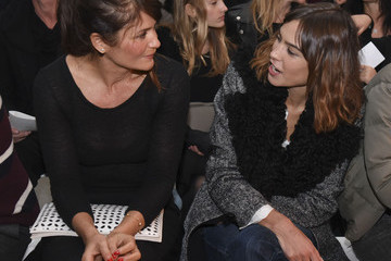 Helena Christensen Edun - Front Row - Mercedes-Benz Fashion Week Fall 2015