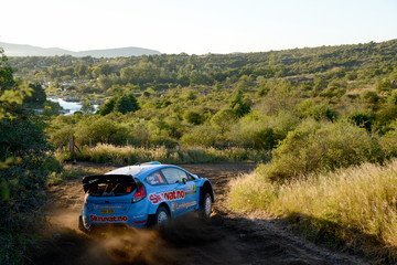 Henning Solberg FIA World Rally Championship Argentina -  Day One