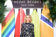 Olesya Rulin attends the Henri Bendel Surf Sport 2018 Collection Launch at The Bungalow on April 27, 2018 in Santa Monica, California.