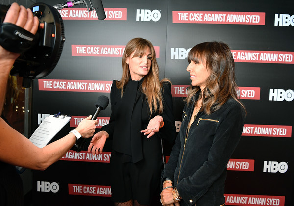 NY Premiere Of HBO's 'The Case Against Adnan Syed' At Pure Nonfiction [the case against adnan syed,event,premiere,carpet,flooring,games,red carpet,executive producers,henrietta conrad,jemima khan,pure non fiction,ny,hbo,l,premiere,premiere]