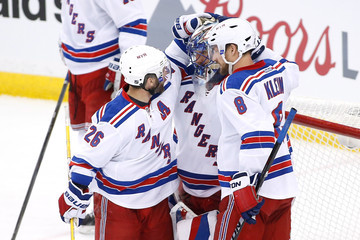 Henrik Lundqvist Kevin Klein New York Rangers v Tampa Bay Lightning - Game Six