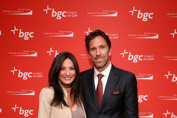 Henrik Lundqvist Annual Charity Day Hosted By Cantor Fitzgerald, BGC, And GFI - BGC Office - Arrivals
