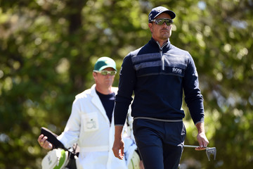 Henrik Stenson The Masters - Round Two
