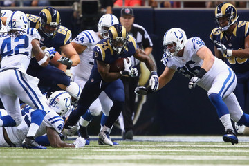 Henry Anderson Indianapolis Colts v St Louis Rams