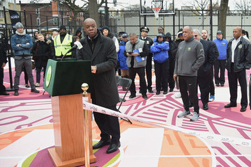 Henry Butler TBS' The Last O.G. Basketball Court Ribbon-Cutting Ceremony