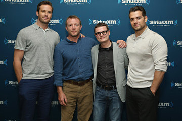 Henry Cavill SiriusXM's Town Hall With Guy Ritchie, Henry Cavill, Armie Hammer and Lionel Wigram