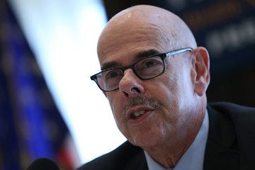 Henry Waxman Climate Change Leaders Hold Briefing on Policy Agenda in Washington