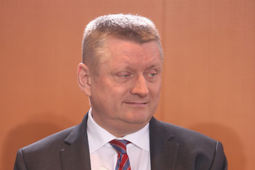 Hermann Groehe Weekly Government Cabinet Meeting