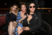 (L-R) Sophie Simmons, Shannon Simmons and Gene Simmons attend Heroes For Heroes: Los Angeles Police Memorial Foundation Celebrity Poker Tournament at Avalon Hollywood on November 10, 2018 in Los Angeles, California.