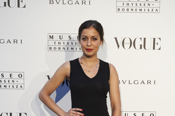 Hiba Abouk 'Vogue Like a Painting' Exhibition in Madrid