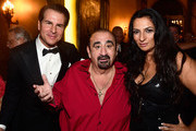 Actors Vincent De Paul, Ken Davitian,  Alice Amterattend  Her Highness Princess Antonia Schaumburg-Lippe Birthday Party Hosted By Sue Wong at The Cedars Palace on September 21, 2015 in Los Angeles, California.