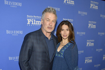 Hilaria Baldwin The 33rd Santa Barbara International Film Festival - Opening Night Film 'The Public' Presented by Belvedere Vodka