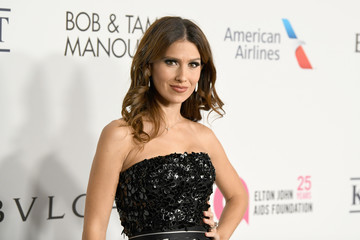 Hilaria Baldwin The Elton John AIDS Foundation's Annual Fall Gala With Cocktails by Clase Azul Tequila
