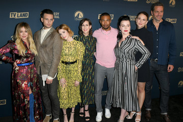 Hilary Duff Nico Tortorella L.A. Press Day For Comedy Central, Paramount Network, And TV Land