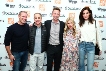 Hilary Rhoda Domino Holiday Pop-up Shop In Partnership With Home Depot And Smartwater To Benefit Habitat For Humanity