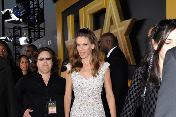 Hilary Swank Backstage at the 18th Annual Hollywood Film Awards