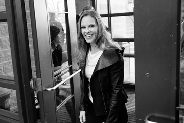 Hilary Swank 2018 Sundance Film Festival - 'What They Had to Do' Premiere - Premiere