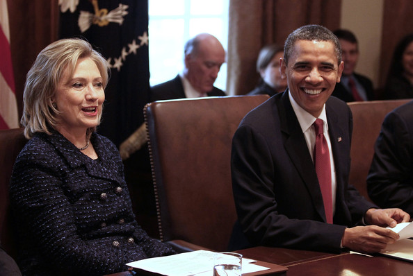 President Obama Holds Cabinet Meeting