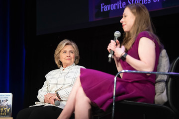 Hillary Clinton Chelsea Clinton Hillary Clinton And Chelsea Clinton Discuss Their New Book 'The Book Of Gutsy Women'