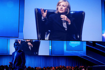 Hillary Clinton Dreamforce Conference