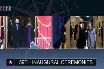 Hillary Clinton Joseph Biden Is Sworn In As 46th President Of The United States