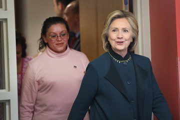 Hillary Clinton Hillary Clinton Attends Child Care Workers Event in Chicago