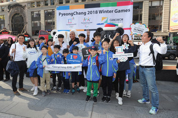 Hines Ward PyeongChang 2018 Olympic Winter Games Kick-Off