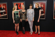 "(L-R) Actresses Scarlett Johansson, Dame Helen Mirren, Jessica Biel and Toni Collette attend the ""Hitchcock"" New York Premiere at Ziegfeld Theater on November 18, 2012 in New York City."