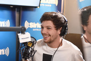 Singer Louis Tomlinson visits the Launch of 'Hits 1 in Hollywood' on SiriusXM Hits 1 at the SiriusXM Los Angeles Studios on January 17, 2017 in Los Angeles, California.