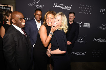 Hoda Kotb Al Roker The Hollywood Reporter's 9th Annual Most Powerful People In Media - Arrivals