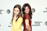 "Sarah Adina Smith and Jennifer Lafleur attend ""Holidays"" Premiere - 2016 Tribeca Film Festival at Chelsea Bow Tie Cinemas on April 14, 2016 in New York City."
