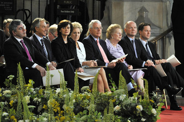Gordon Brown Nick Clegg His Holiness Pope Benedict XVI Pays A State Visit To The UK - Day 2