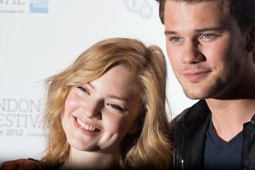 Holliday Grainger Jeremy Irvine 56th BFI London Film Festival: Great Expectations Photocall