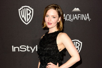 Holliday Grainger 2016 InStyle and Warner Bros. 73rd Annual Golden Globe Awards Post-Party - Arrivals