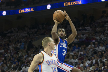 Hollis Thompson Oklahoma City Thunder v Philadelphia 76ers